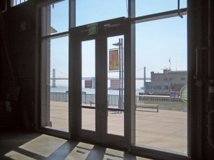 8 pairs of SuperLite II-XL 45 IGU in HM Door Framing on the south side provides easy access to the outdoor exhibits and views of the Bay Bridge.