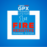 GPX framing system is the #1 Fire Resistive Framing System