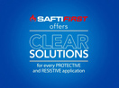 SAFTI FIRST offers clear solutions for every protective and resistive application