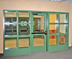 SuperLite I 20 minute tempered fire rated glass for doors