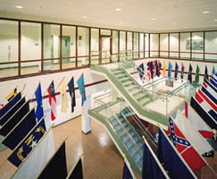SuperLite II-XL 120 Fire Rated Glass Wall at Fort Drum