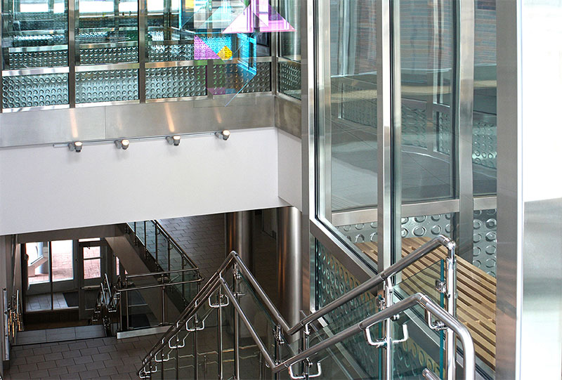Reinventing Stairways Using Fire Rated Glass Saftifirst