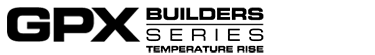 GPX Builders Series Temperature Rise