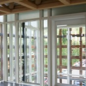 SuperLite II-XL 120-minute with Starphire insulated with Viracon VE13-85 in GPX Curtain Wall Series
