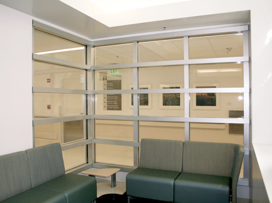 90 degree corner framing