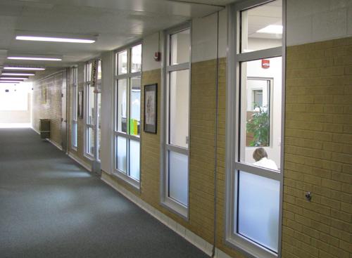 1 hour exit corridors