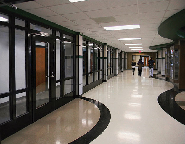 Fire Rated Glass Protects Students from the Inside and Out