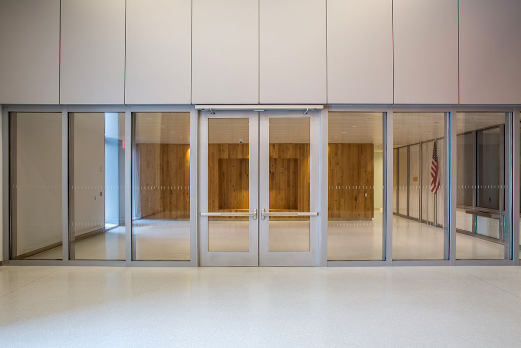 Fire Resistive Blast and Ballistic Glass Walls in High Security Facilities