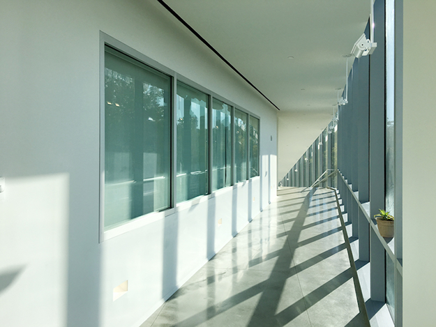 Fire Resistive Transparent Walls Transform Stairwells and Exits to Inviting, Light-filled Spaces