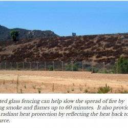 Fire Rated Glass Fencing | SAFTI FIRST