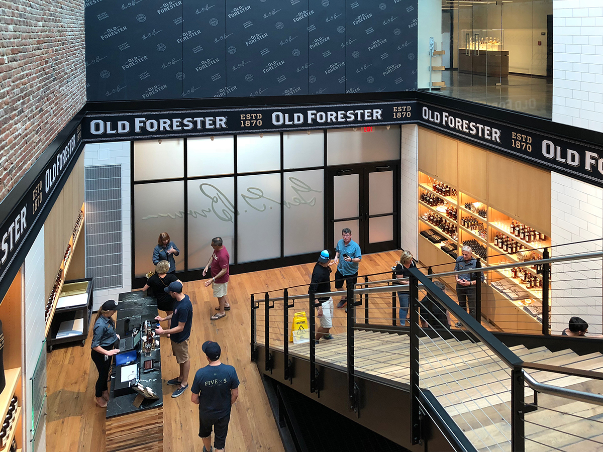 Fire Rated Glazing Gets Visitors 'In the Spirit' of Historic Bourbon Distillery