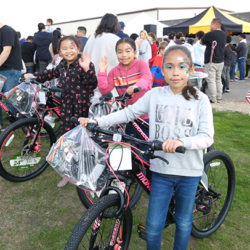 Giveway event at Merced, CA | SAFTI FIRST